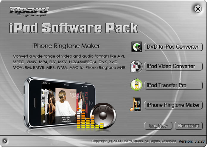 Tipard iPod Software Pack Lifetime License
