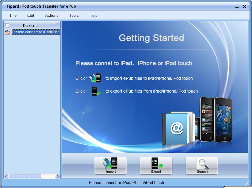 Tipard iPod touch Transfer for ePub