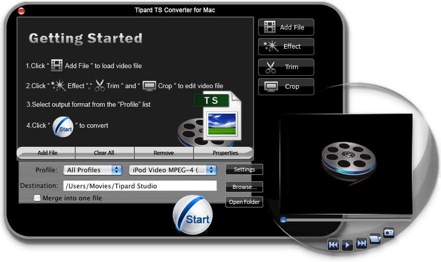 Tipard TS Converter for Mac
