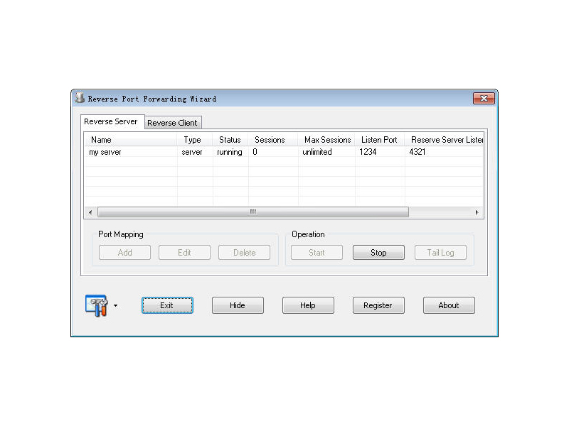 Reverse Port Forwarding Wizard