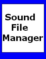 Sound File Manager