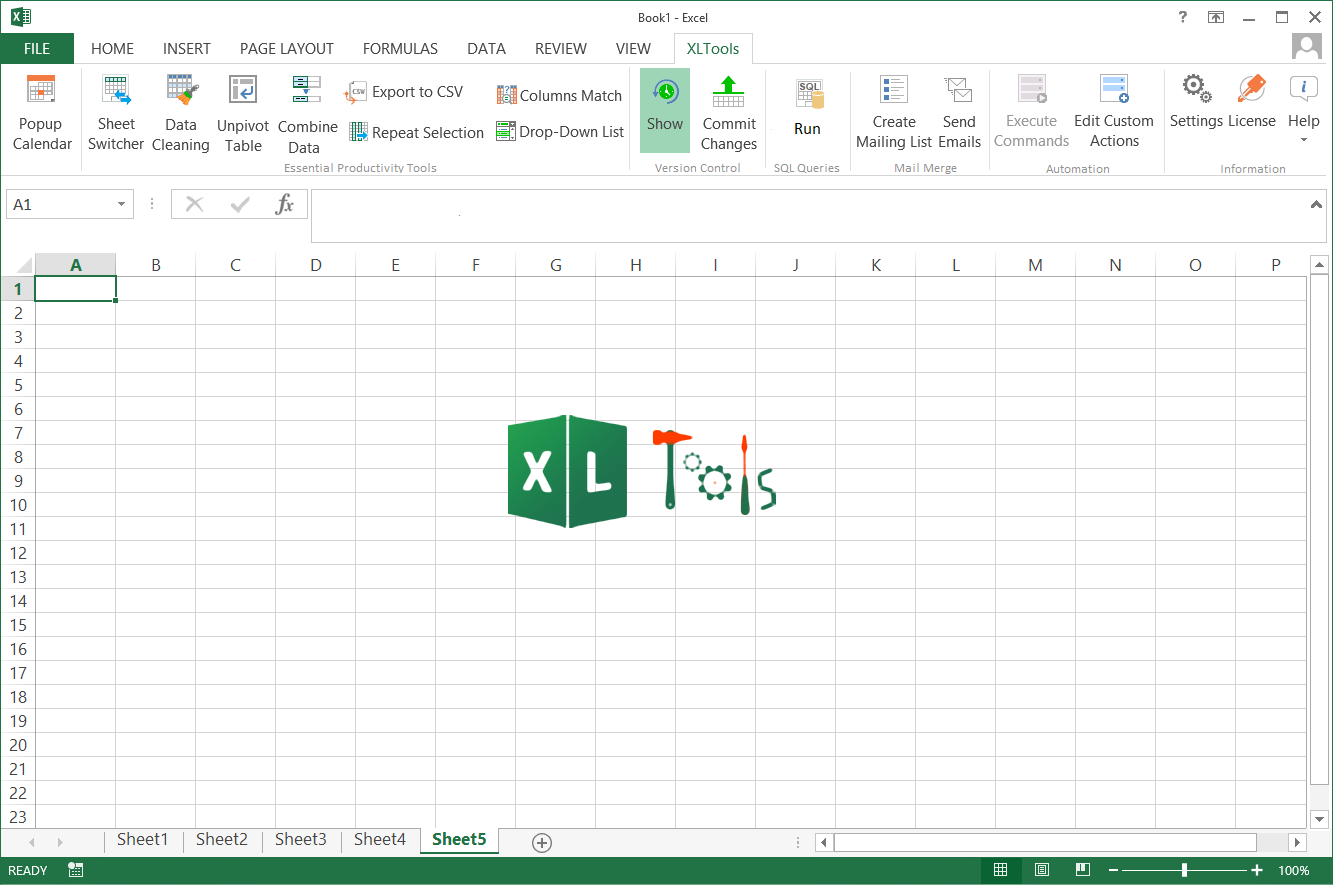 XLTools Popup Calendar Add-in for Excel