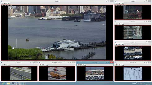 NetCamCenter Professional 8 Camera version