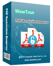 WowTron PDF Restriction Remover